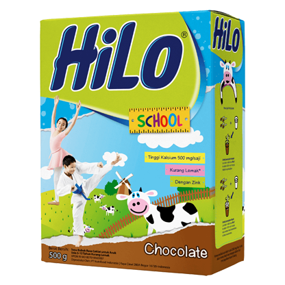 susu anak rendah lemak coklat