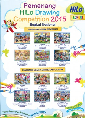 Pemenang Tingkat Nasional HiLo School Drawing Competition 2015