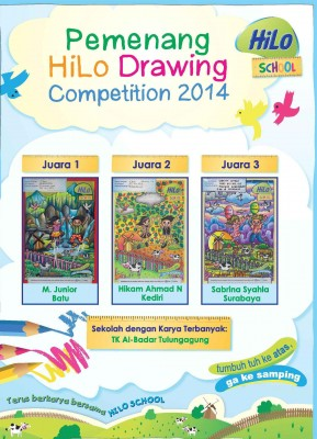 Pemenang HiLo School Drawing Competition 2014 di TK Jawa Timur