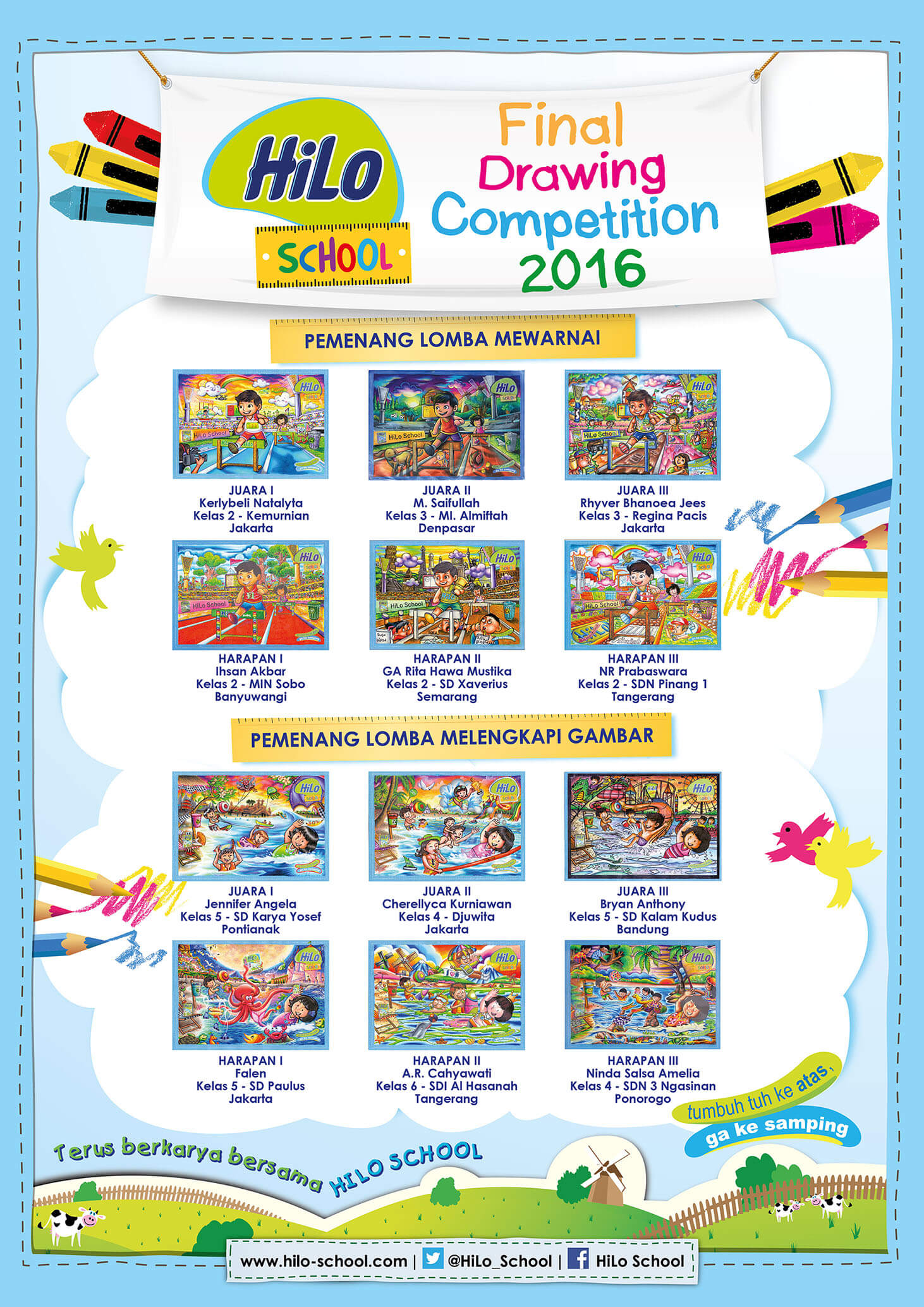 HiLo School Drawing Competition