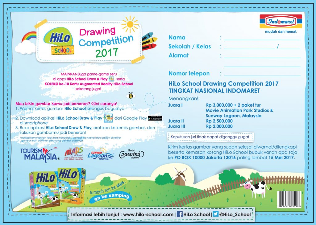 HiLo School Drawing Competition Indomaret - Kelas 1-3
