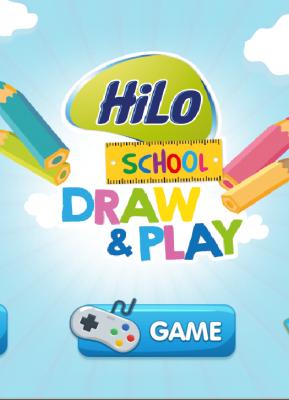 Hidupkan Gambarmu Dengan Augmented Reality HiLo School!