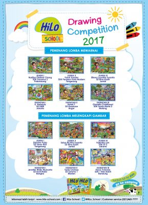 Pemenang HiLo School Drawing Competition 2017 Tingkat Nasional