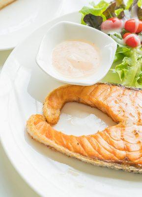 Ikan Bakar Saus Keju Untuk Nutrisi Si Jagoan