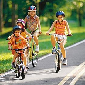 bersepeda memacu tinggi badan