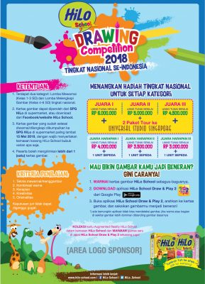HiLo School Drawing Competition 2018 Tingkat Nasional