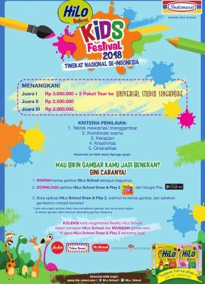 HiLo School Kids Festival 2018 Bersama Indomaret