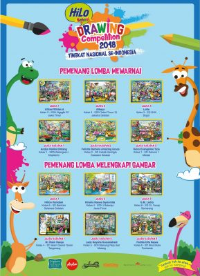 Pemenang HiLo School Drawing Competition 2018 tingkat Nasional